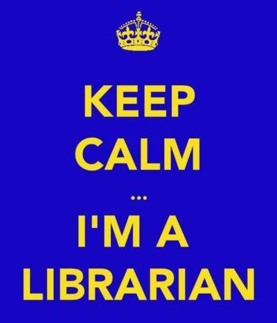 Keep Calm I'm A Librarian