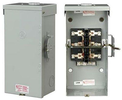 Ge Energy Industrial Solutions Tc10323r Ge Outdoor Double Pole Double Throw Safety Switch 100 Amp Review Safety Switch Locker Storage Switch