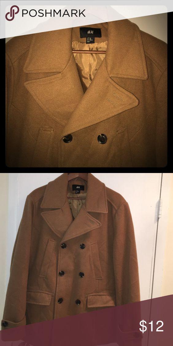 🔎CLEARANCE🔍 H&M mens pea coat | Pea Coat, H M Men and Wool Blend