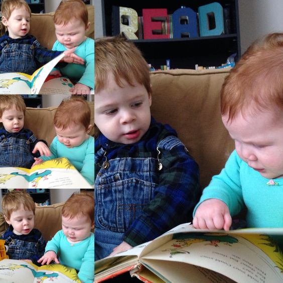 Read with your kids from an early age!