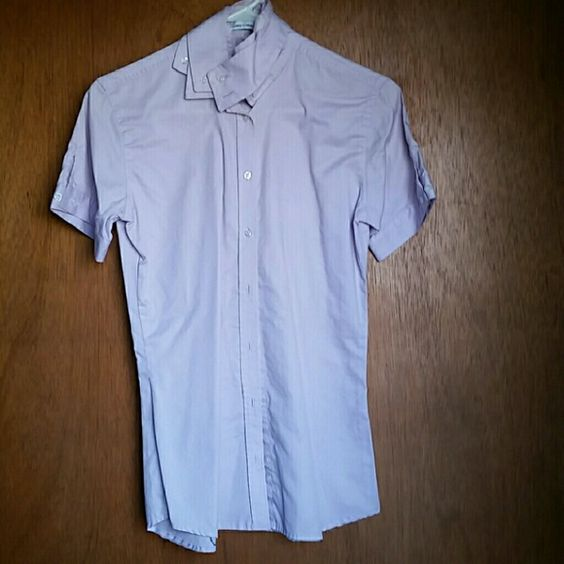 Horse Show Riding Short Sleeve Top! Gently used 100% Cotton. Size 34 (small). Will be glad to bundle all show tops or jackets. Tops