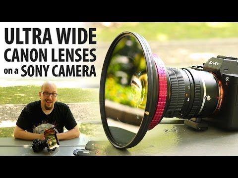 44 Ultra Wide Canon Lenses On A Sony Camera Rokinon 14mm F2 8 Wonderpana Youtube Sony Camera Sony Digital Camera Sony Digital