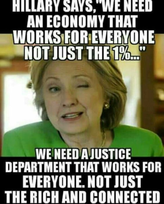 We the People want justice.lock the clintons up in prison!
