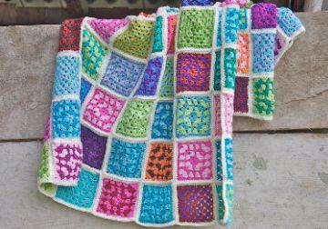 DIY crochet blanket