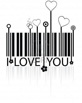 I love you : ) PD. Re-imagine a bar code assignment.