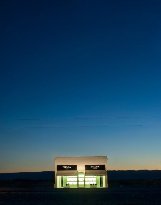 Prada Marfa: permanent installation in the middle of nowhere, western TX