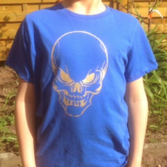 Pimp my shirt Skull