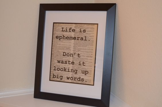 Dictionary Print by ChristinaMarieCrafts on Etsy https://www.etsy.com/listing/254009000/dictionary-print