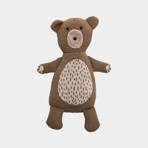 Doudou ours tricot sur Plumeti