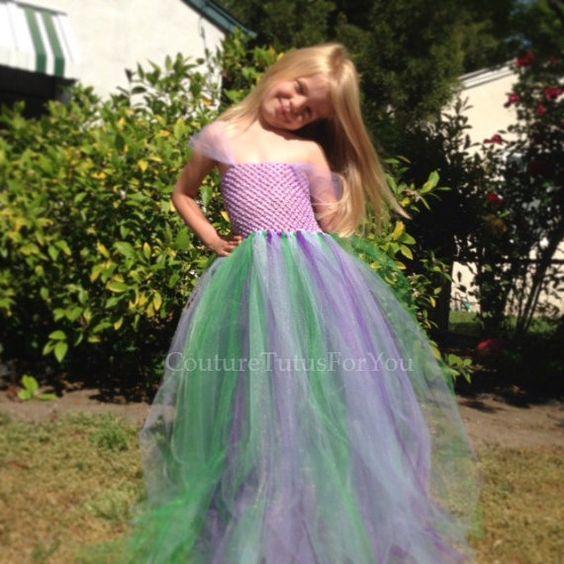 Ariel Disney Princess Dress ariel dress by CoutureTutusForYou