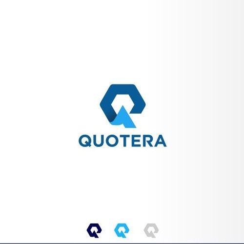Quotera Insurance Typeface Logo Insurance Technology And B2b Insurance Quote Generation Target Market Customers W Typeface Logo Creative Logo Geometric Logo