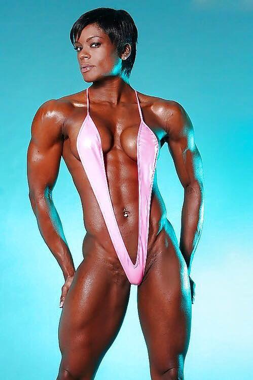 beautiful nude ebony body builders - 11 best fbb ebony images on Pinterest | Athletic women, Black women and  Ebony women