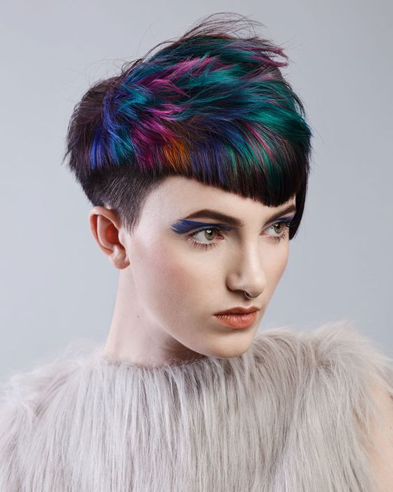 Jewell Hair: Harlequin By Nelson Hairdressing Amazing Jewel Tones