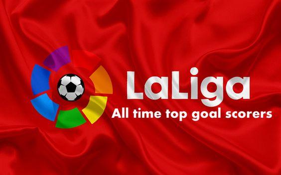 La Liga All Time Top Scorers History La Liga La Coruna Logos