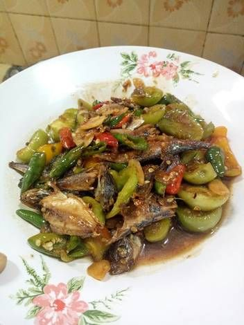 Resep Oseng Ikan Asin Peda Cabai Hijau Plus Tomat Hijau Oleh Sulfianalara Resep Resep Masakan Asia Resep Tomat Resep Masakan