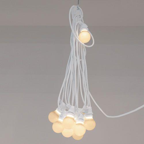 Guirlande lumineuse blanche intérieur/extérieur à led Bellavista