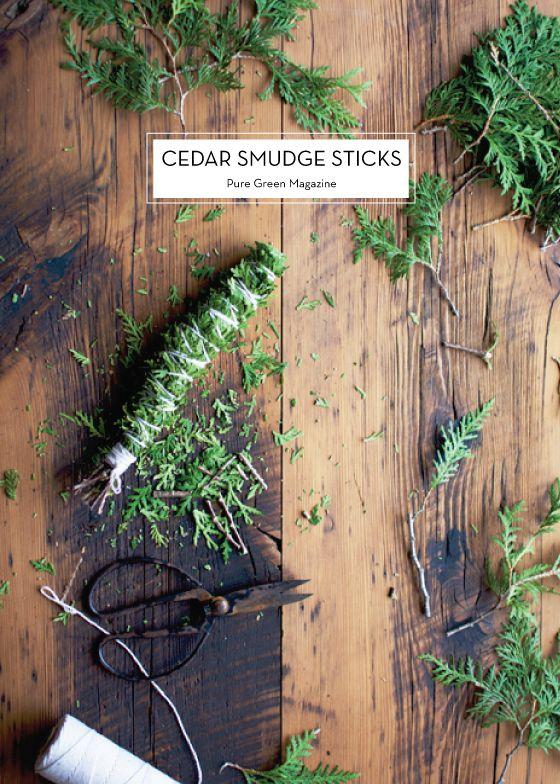 How To Make A Cedar Smudge Stick : cedar, smudge, stick, January, Design, Crush, Cedar, Smudge,, Smudge, Sticks
