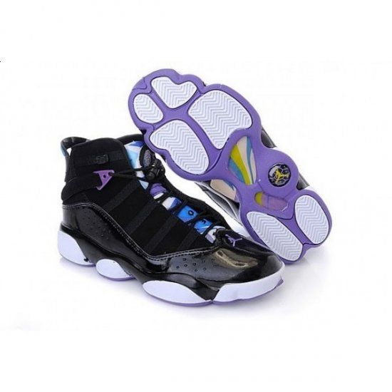 jordan 6 rings purple white