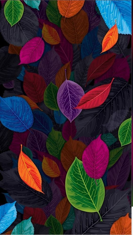 Watercolor Leaves Ideas Colorful Wallpaper Flower Phone Wallpaper Flower Wallpaper
