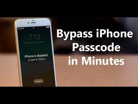 Forgot Iphone Passcode Or Iphone Is Disabled How To Unlock It Without Itunes Youtube Unlock My Iphone Iphone Life Hacks Iphone