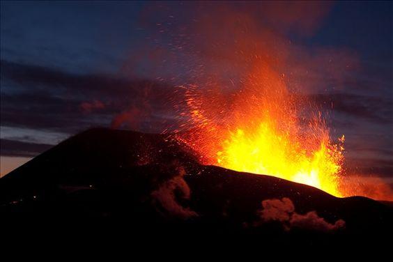 Eruption in Iceland