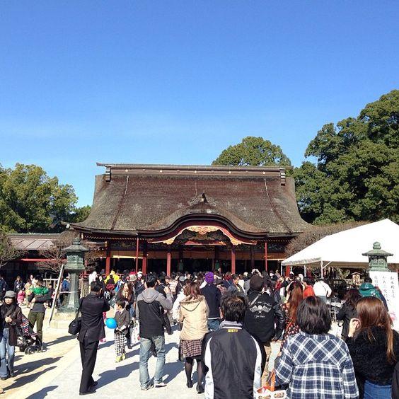 太宰府天満宮 (Dazaifu Tenmangu) 場所: 太宰府市, 福岡県