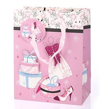 modello Cupcake supporto del sacchetto regalo di favore per il compleanno – EUR € 1.81