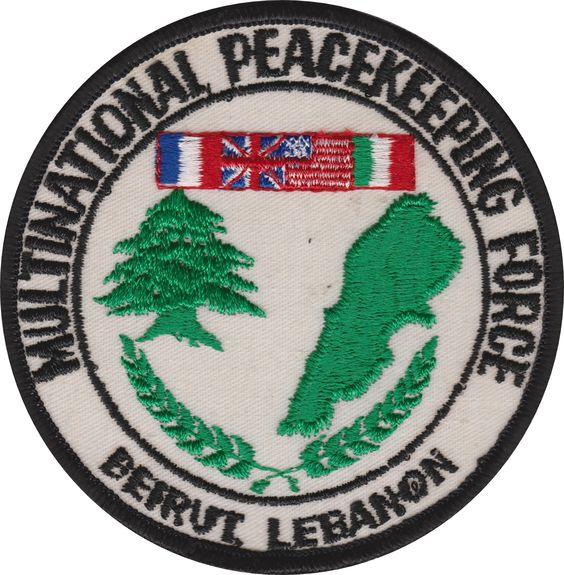 USS New Jersey BB-62 Beirut Lebanon