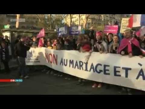 Frankreich entscheidet über Homo-Ehe | Journal