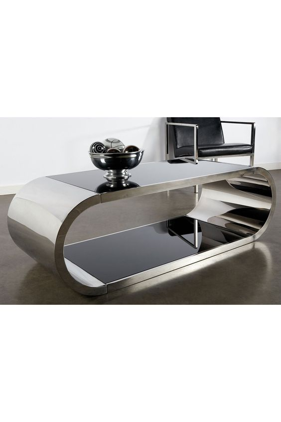Pia Coffee Table - Silver by Statements by J on @HauteLook