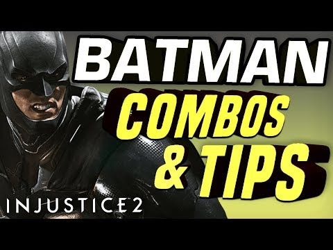 Batman Combos Tips With Injustice 2 Pro Cheeko Hitbox