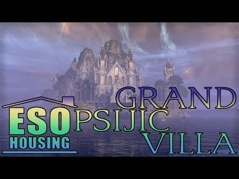 Eso Grand Psijic Villa Fully Decorated Youtube Villa Decor