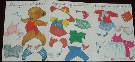 BIRTHDAY Audrey Christie- Recycled Paper Products Inc 1983