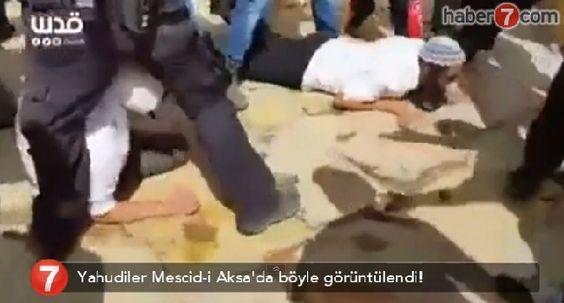 Yahudiler Mescid-i Aksa'da İbadet Etmek İstedi - kureselajans.com-İslami Haber Medyası
