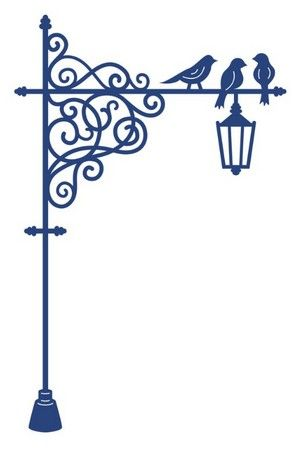 Tattered Lace Dies - Lamp Post: