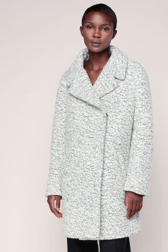 Manteau gris clair mélangé Winter - Vila