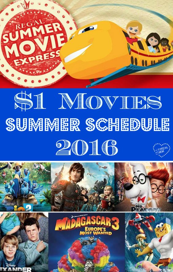 $1 movies at regal cinemas 2016