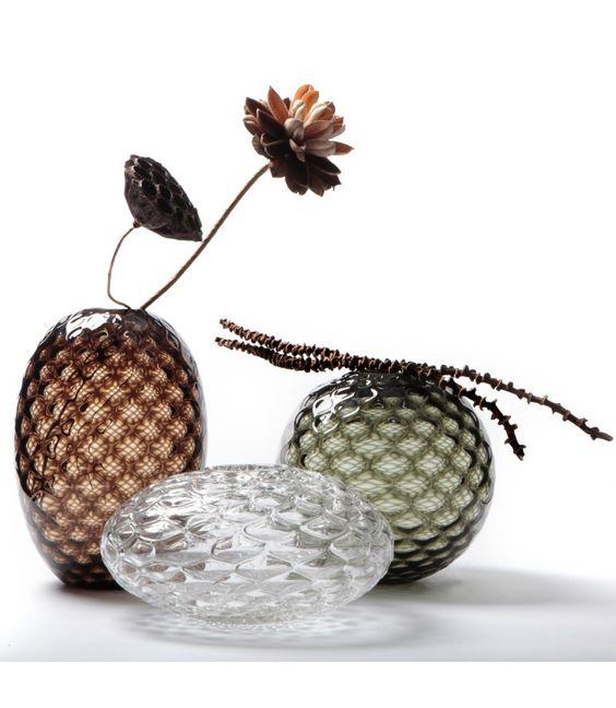 váza sklenená