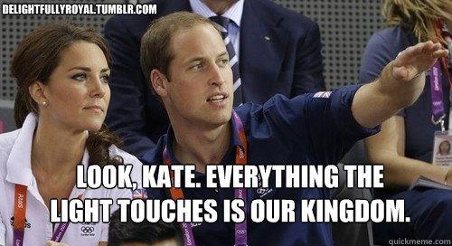 Our kingdom...