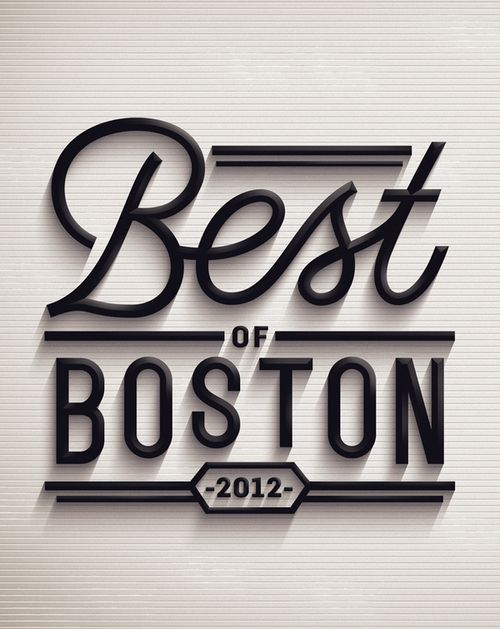 Best of Boston 2012 from Jordan Metcalf.