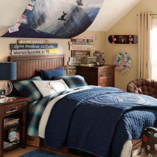 ideen für wandgestaltung im jugendzimmer für jungs | collin, Schlafzimmer design