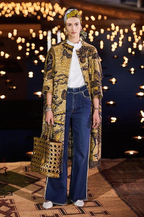 Dior, colección crucero 2020  Foto: Pinterest.
