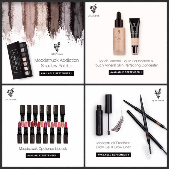 Makeup lovers, get excited!!! Younique has NEW products coming out September 1st!!!! Follow me to stay updated on these AMAZING products! Check out my website too at www.theflashylashes.com