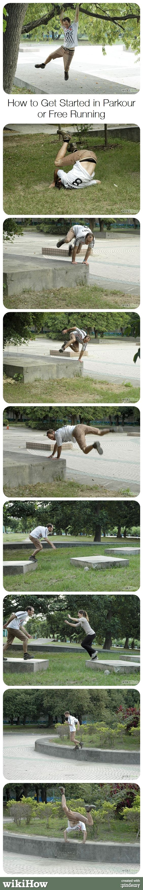 How to get in shape for parkour