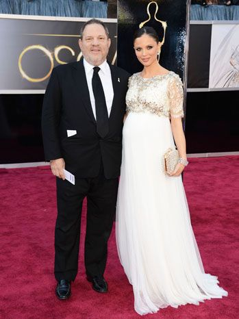 Harvey Weinstein and Georgina Chapman, lovely as always... I'm guessing she's wearing Marchesa (doh!)