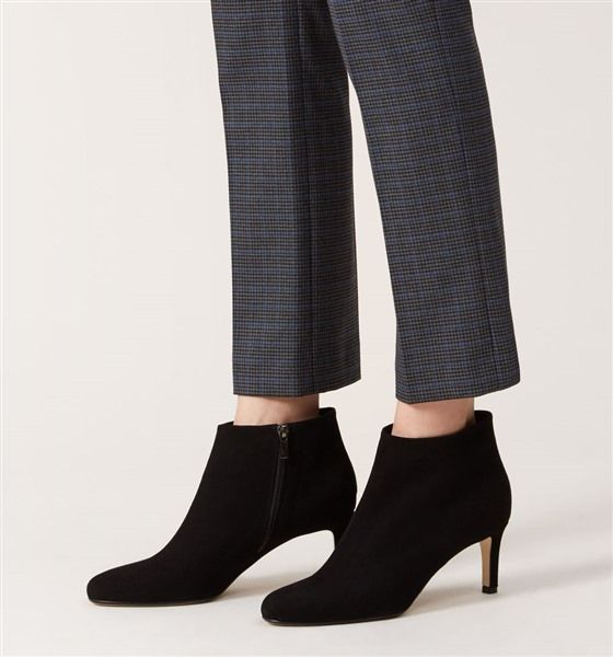 Hobbs Black BH05 Lizzie Ankle Boot http
