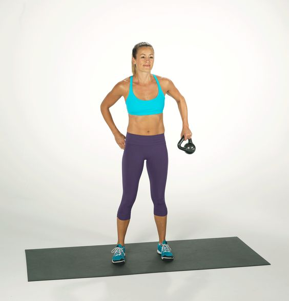 Incinerate Calories and Strengthen Your Core With This Simple Kettlebell Move