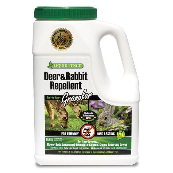 Spectrum Liquid Fence 72654 5-pound Deer & Rabbit Repellent Granules
