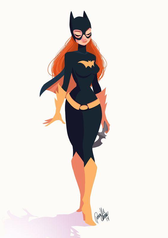 Pinup Arena • pernilleoe: Batgirl for@Sketch_Dailies