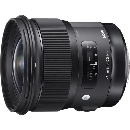 Sigma 24mm F1 4 Dg Hsm Art Lens For Sony E Mount Cameras 77mm Filter Backpack Bundle In 2021 Art Lens Nikon Lenses Camera Tattoos